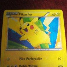 Trading Cards: CARTA POKÉMON. PIKACHU. Lote 199706265