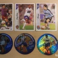 Trading Cards: CROMOS LOTE 6 FICHAS DE LA LIGA,EL CRACK DANET LFP MUNDICROMO 2006/2007. Lote 199867787