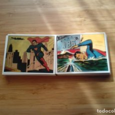 Trading Cards: SUPERMAN GUM - EDITION LIMITED - 72 CARDS - REPRINT 1984 - COMPLETA - MBE - GORBAUD. Lote 200000420
