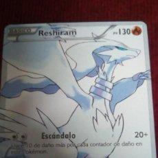Trading Cards: CARTA POKÉMON. RESHIRAM. Lote 200196178