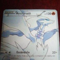 Trading Cards: CARTA POKÉMON. RESHIRAM. Lote 200514537