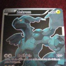 Trading Cards: CARTA POKÉMON. ZEKROM. Lote 200616358