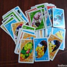 Trading Cards: LOTE DE 110 CARTAS ( UNO POKEMON GO ). Lote 201527991