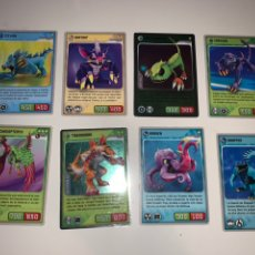 Trading Cards: LOTE 16 TRADING CARDS INVIZIMALS 2009-2013. Lote 201687125