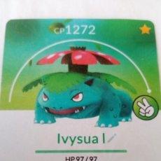 Trading Cards: CARTA POKÉMON GO. VENUSAUR. Lote 202534983