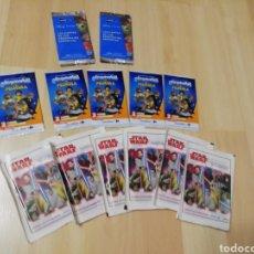 Trading Cards: LOTE DE 13 SOBRES CARREFOUR Y HIPERCOR.. SIN ABRIR.. STAR WARS - PLAYMOBIL-DISNEY... Lote 203293893