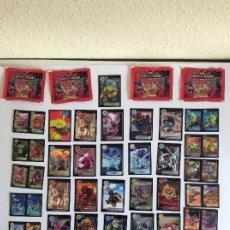 Trading Cards: INVIZIMALS -LEGENOS LOTE DE 39 + 4 SOBRES SIN ABRIR TRADING CARDS - - LEER DETALLES VER FOTOS. Lote 203972838