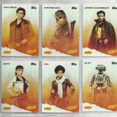 Trading Cards: TRADING CARDS STAR WARS HAN SOLO USA TOPPS DENNY'S 2018. Lote 204190218