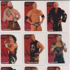 Trading Cards: LOTE 81 LAMINCARDS WWE EDIBAS 2007 - VER NÚMEROS EN DESCRIPCIÓN. Lote 204355605