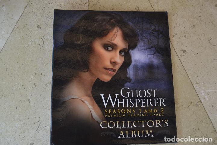 ALBUM ARCHIVADOR COLECCION TRADING CARDS ENTRE FANTASMAS (BREYGENT 2009) (Coleccionismo - Cromos y Álbumes - Trading Cards)