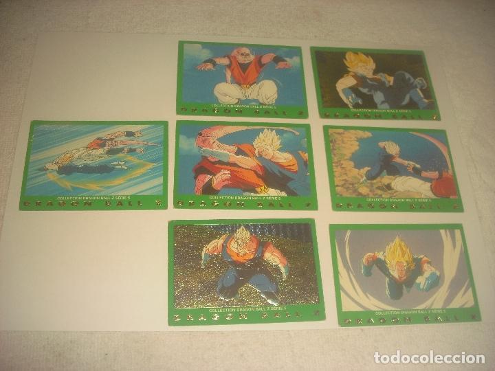 DRAGON BALL Z .SERIE 5 LOTE DE7 CROMOS. NUMEROS 51,57,25,78,27,64Y 28 (Coleccionismo - Cromos y Álbumes - Trading Cards)