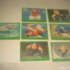 Trading Cards: DRAGON BALL Z .SERIE 5 LOTE DE7 CROMOS. NUMEROS 51,57,25,78,27,64Y 28. Lote 205002840