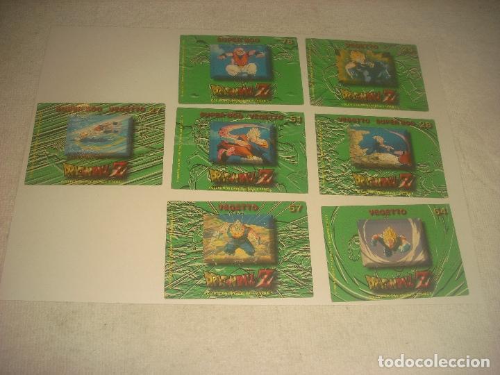 Trading Cards: DRAGON BALL Z .SERIE 5 LOTE DE7 CROMOS. NUMEROS 51,57,25,78,27,64Y 28 - Foto 2 - 205002840