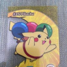 Trading Cards: CARTA POKEMON PIKACHU TOPPS NINTENDO. Lote 205510562