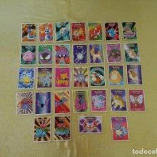 Trading Cards: LOTE DE 32 CARTAS, DE POKEMON, NINTENDO, 1999. Lote 205657422