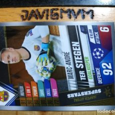 Trading Cards: CHAMPIONS LEAGUE 2019 2020 TOPPS 101 TER STEGEN MS 1 BARCELONA CROMO. Lote 205755112