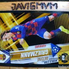 Trading Cards: CHAMPIONS LEAGUE 2019 2020 TOPPS 101 GRIEZMANN S 28 BARCELONA CROMO. Lote 205755148