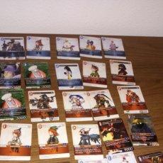 Trading Cards: BR LOTE 25 TRANDING CARDS FINAL FANTASY LOTE 2 PQTE Z EN FRANCÉS FRANCIA. Lote 206585683