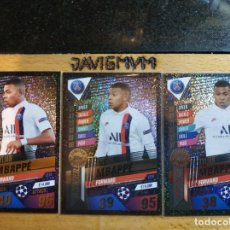 Trading Cards: CHAMPIONS LEAGUE 2019 2020 TOPPS 101 LIMITADA LIMITED MBAPPE ORO , PLATA Y BRONZE CARDS CROMO. Lote 206783445