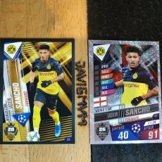 Trading Cards: CHAMPIONS LEAGUE 2019 2020 TOPPS 101 BORUSSIA DORTMUND SANCHO S 26 Y W 26 CARDS CROMO. Lote 206783906