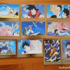 Trading Cards: LOTE 10 CARDS SERIE 3 ORO DRAGON BALL Z - SIN REPETIDOS (N2). Lote 207078820