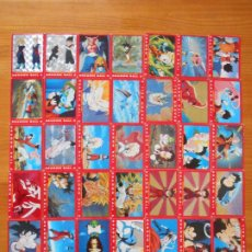 Trading Cards: LOTE 39 CARDS SERIE 4 ROJA DRAGON BALL Z - SIN REPETIDOS (N2). Lote 207079516