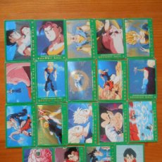 Trading Cards: LOTE 19 CARDS SERIE 5 VERDE DRAGON BALL Z - SIN REPETIDOS (DF). Lote 207081290