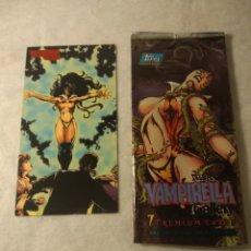 Trading Cards: VAMPIRELLA GALLERY N° 8 + SOBRE VACIO TOPPS 1995. Lote 207245326