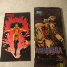 Trading Cards: VAMPIRELLA GALLERY N° 12 + SOBRE VACIO TOPPS 1995. Lote 207245386