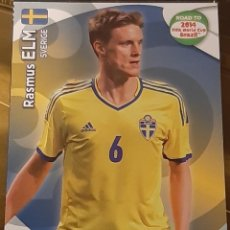 Trading Cards: CARD PANINI ADRENALYN XL ROAD TO 2014 FIFA WORLD CUP RASMUS ELM SUECIA. Lote 207340963