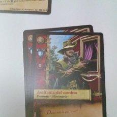 Trading Cards: CROMO EL MUNDO DE AGUILA ROJA. ASALTANTE DEL CAMINO. AR1 Nº 125 C13CR. Lote 208932921