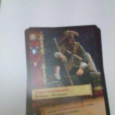 Trading Cards: CROMO EL MUNDO DE AGUILA ROJA. VIGÍA MERCENARIO. AR1 Nº 137 C13CR. Lote 208932991