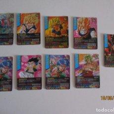 Trading Cards: LOTE DE 9 CARTAS DRAGON BALL DATACARDDASS BATTLE. Lote 208964775