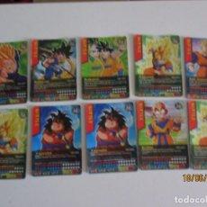 Trading Cards: LOTE DE 10 CARTAS DRAGON BALL DATACARDDASS BATTLE. Lote 208965015