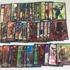 Trading Cards: STARS WARS -- 47 CROMOS TRADING CARDS ROGUE ONE CROMOS NUEVOS. Lote 209160317