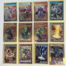 Trading Cards: INVIZIMALS BATALLA DE CAZADORES (12 ) TRADING CARDS - CROMOS (NUEVO ). Lote 209288852