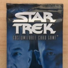 Trading Cards: STAR TREK SECOND EDITION 1 PAQUETE DE 11 CARDS SIN ABRIR. Lote 210057813