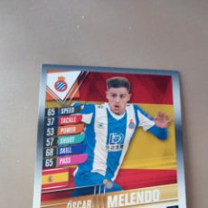 Trading Cards: MATCH ATTAX 101 TOPPS ÓSCAR MELENDO CLUB HERO 2020 NUEVO. Lote 210375147