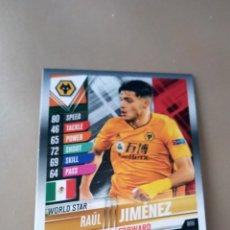 Trading Cards: MATCH ATTAX 101 TOPPS RAÚL JIMÉNEZ WORLD STAR 2020 NUEVO. Lote 210375321