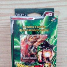 Trading Cards: DRAGON BALL SUPER CARD GAME - THE DARK INVASION - BANDAI - PRECINTADO. Lote 210570515