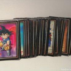 Trading Cards: LOTE 65 DRAGON BALL SERIE 1. NUMEROS QUE COMPONEN EL LOTE EN DESCRIPCION. Lote 210586175
