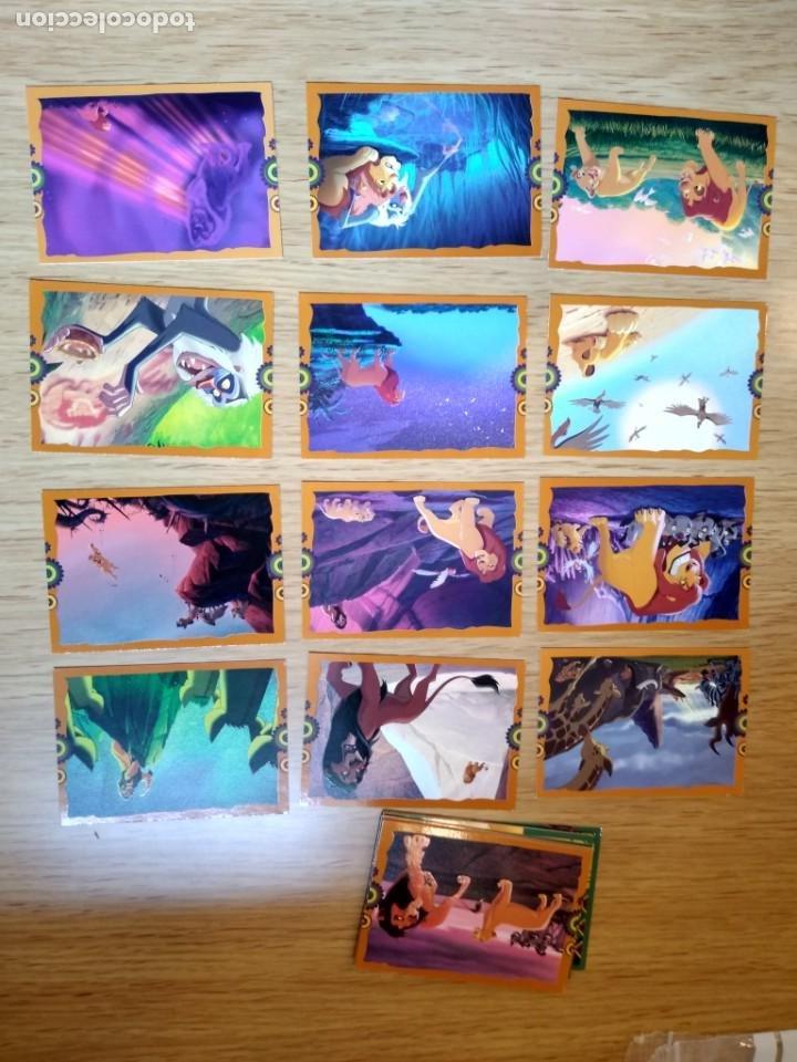 EL REY LEON TARJETAS CONSULTA FALTAS (Coleccionismo - Cromos y Álbumes - Trading Cards)