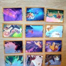 Trading Cards: EL REY LEON TARJETAS CONSULTA FALTAS. Lote 210935717