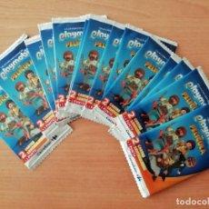Trading Cards: LOTE 14 SOBRES CARTAS PLAYMOBIL LA PELÍCULA. Lote 211570247
