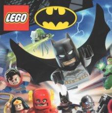 Trading Cards: LEGO BATMAN TC - LOTE DE 190 CARDS DISTINTAS ED. ALEMANA. Lote 211627744