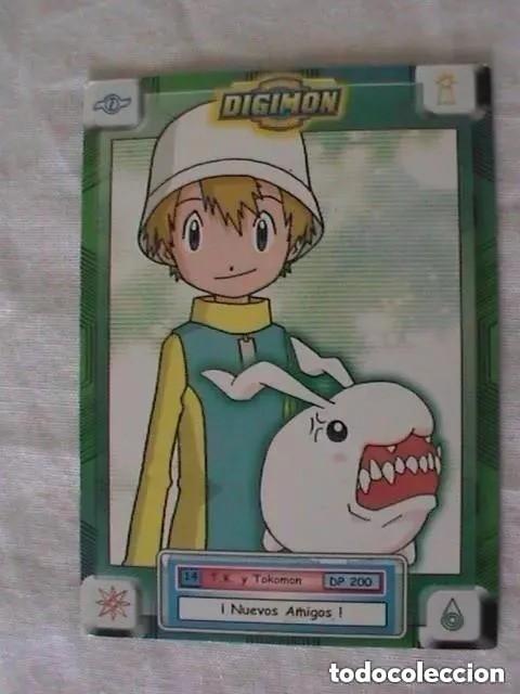 TRADING CARD DIGIMON - T.K Y TOKOMON (Coleccionismo - Cromos y Álbumes - Trading Cards)