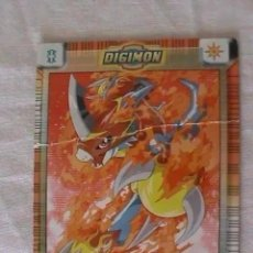 Trading Cards: TRADING CARD DIGIMON - FLAMEDRAMON. Lote 212056708