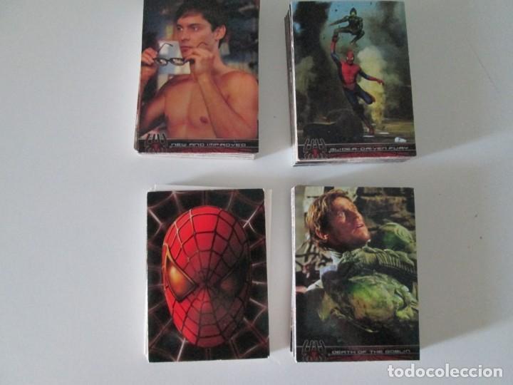 SPIDERMAN MARVEL TOPPS COMPLETA (Coleccionismo - Cromos y Álbumes - Trading Cards)