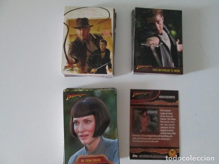 Trading Cards: INDIANA JONES TOPPS COMPLETA - Foto 1 - 212083361