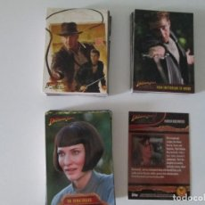 Trading Cards: INDIANA JONES TOPPS COMPLETA. Lote 212083361
